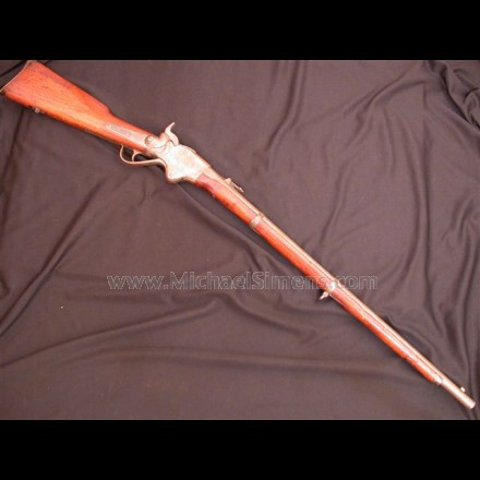 CIVIL WAR SPENCER RIFLE IN DESIRABLE SERIAL NUMBER RANGE.