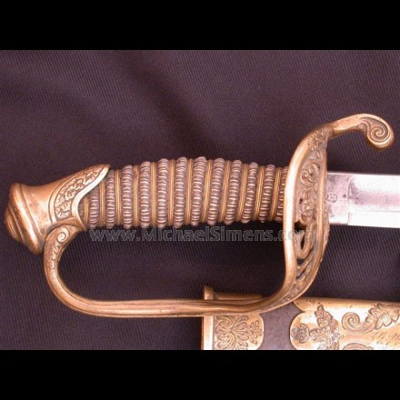 CIVIL WAR SWORD, OFFICERS MODEL FOR SALE