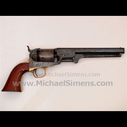 CIVIL WAR COLT 1851 NAVY REVOLVER.