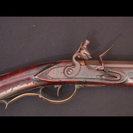 Kentucky Rifle attributed to John Orwin, Carlisle, Pa. 4391
