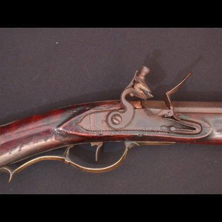 Kentucky Rifle attributed to John Orwin, Carlisle, Pa. 4391