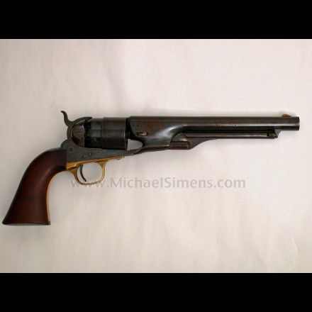 COLT CIVIL WAR 1860 ARMY REVOLVER