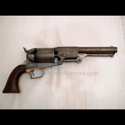 COLT FIRST MODEL DRAGOON REVOLVER, MARTIALLY MARKED