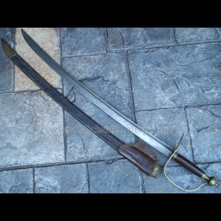 REVOLUTIONARY WAR SWORD, HORSEMAN'S SABER