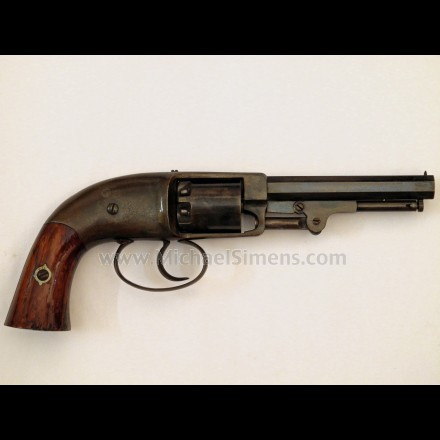 ANTIQUE GUN, PETTENGILL POCKET REVOLVER