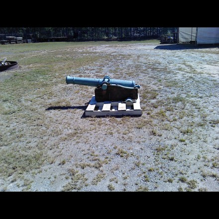 CIVIL WAR 6-POUNDER CANNON