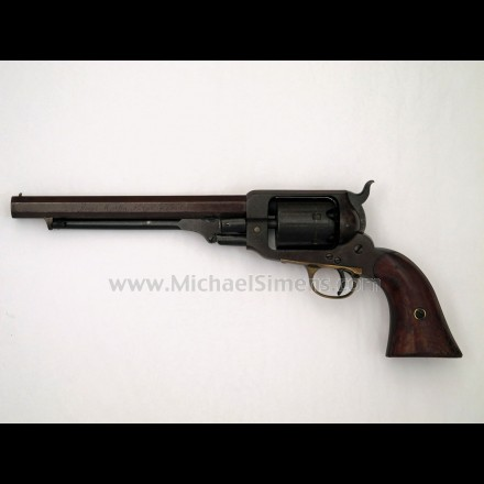 INSCRIBED CIVIL WAR WHITNEY REVOLVER AND SWORD