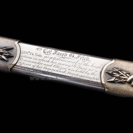 HISTORIC TIFFANY CIVIL WAR SWORD