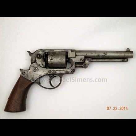 Civil War Starr Revolver in 44 caliber, Navy issue