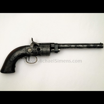 MASSACHUSETTS ARMS / WESSON & LEAVITT REVOLVER - ANTIQUE GUNS