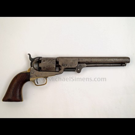 Colt 3rd Model 1851 Navy Revolver - ANTIQUE COLT REVOLVERS