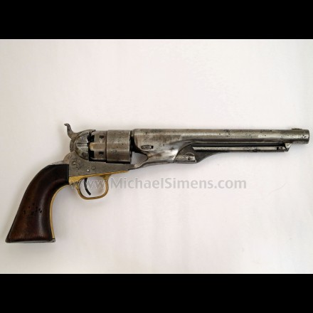 CIVIL WAR COLT ARMY REVOLVER, COLT 1860