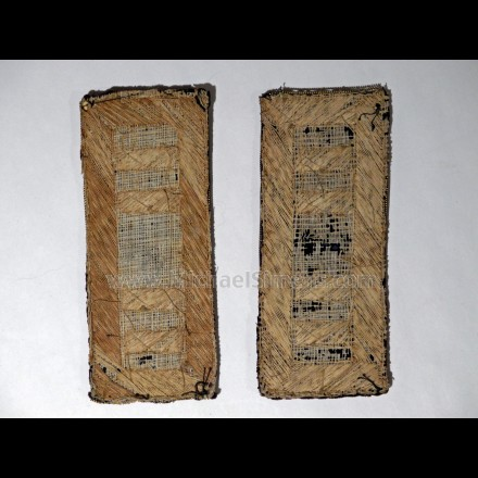 CIVIL WAR ARTIFACTS FOR SALE - INFANTRY CAPTAIN SHOULDER STRAPS