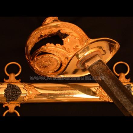 CIVIL WAR PRESENTATION SWORD FOR SALE - CIVIL WAR SWORD DEALER, APPRAISER