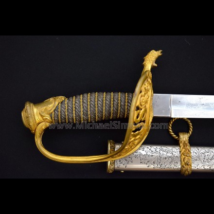 PRESENTATION GRADE CIVIL WAR SWORD