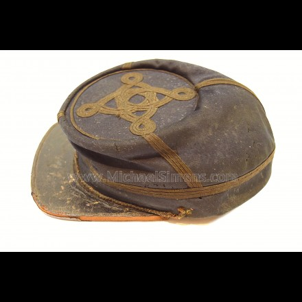 IDENTIFIED CIVIL WAR UNION OFFICERS KEPI
