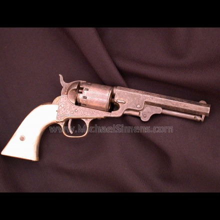 MANHATTAN NAVY REVOLVER, CIVIL WAR GUN