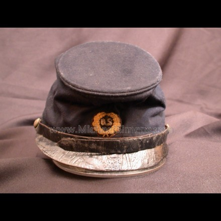 CIVIL WAR McDOWELL PATTERN OFFICERS KEPI FOR SALE - CIVIL WAR HAT APPRAISER