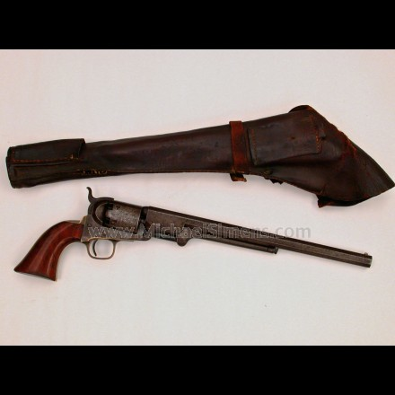 "COLT 1851 NAVY REVOLVER WITH RARE 12"" BARREL"