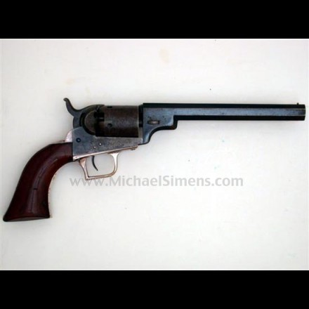 "COLT BABY DRAGOON REVOLVER WITH 6"" BARREL."