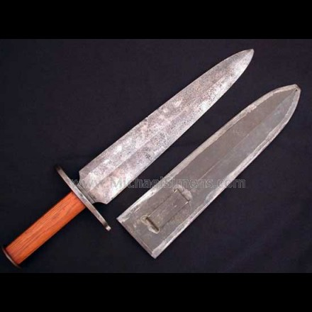 CONFEDERATE BOWIE KNIFE, THE GREEN ROUGH AND READYS